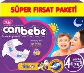 Canbebe Süper Fırsat Bebek Bezi No 4 Maxi 76 Adet (7 14kg)