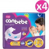 Canbebe Ekonomik Bebek Bezi No 1 Newborn 248 Adet (2 5kg) 62*4