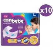 Canbebe Standart Bebek Bezi No 1 Newborn 130 Adet (2 5kg) 13*10