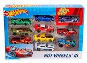 Hot Wheels 10'lu Araba Seti (Mattel 54886)