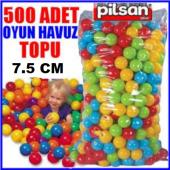 Pilsan 7 Cm Oyun Havuzu Topları Topu 500 Adet