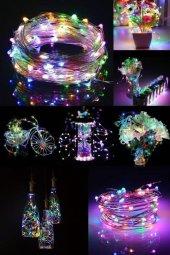 Dekoratif Peri Led 5 Metre 50 Led Rgb Işık