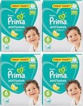 Prima Aktif Bebek 6 Numara Fırsat Paketi 40 X 4 160 Adet