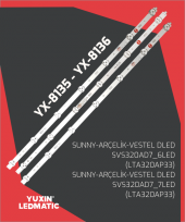 Yx 8135 8136 Sunny Samsung Led Bar Takımı