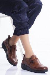 Hakiki Deri Ortopedik Kadın Ayakkabı Tmd19034040 Tmd19034040