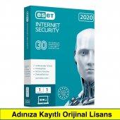 Eset Nod32 Antivirüs 1 Pc 1 Yıl 2020 (Elektronik Lisans)