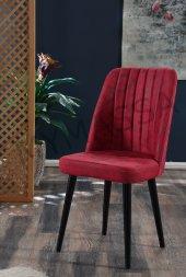 6 Adet Polo Sandalye Ahşap Ayaklı Mutfak Masası Sandalyesi