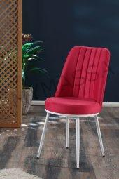 Gold Sandalye Metal Ayaklı Yemek Masası Sandalyesi