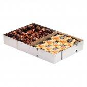 Fisko Ayarlanabilir Kek Pasta Pişirme Çerçeve Fırın Tepsisi 41 51 X 33 X 5 Cm 801528
