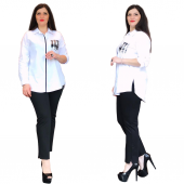 Ghada Cep Payetli Gömlek 17090