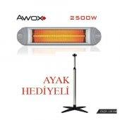 ısıtıcı Ecotec Awox Infrared 2500w Ayaklı