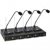 Doppler Mtw 444 Uhf Band Telsiz Kürsü Tipi...