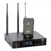 Doppler Dm 350b Uhf Band Telsiz Yaka Tipi Mikrofon Seti