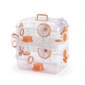 Hamster Kafesi İki Katlı (40x26x49 Cm)