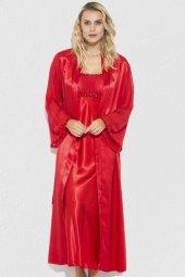 Mite Love Saten Gecelik Ve Sabahlık Kadın Giyim Kırmızı