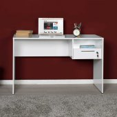 Adore Concept Kilitli Çekmeceli Çalışma Masası Cms 510 Pp 1 Lake Beyaz