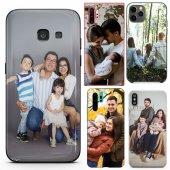 Huawei P8 Lite Çiftlere Tasarımlı İsimli Fotoğraflı Kılıf-6
