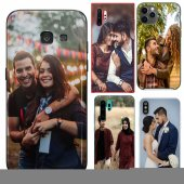 HTC U11 Çiftlere Tasarımlı İsimli Fotoğraflı Kılıf-3