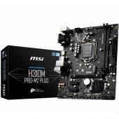 Msı H310m Pro M.2 Plus Ddr4 2666 Mhz S+v+gl 1151p