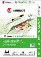 Laminasyon Makinesi Filmi 100 Mc A4 1 Paket 100...