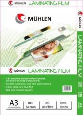 Mühlen Laminasyon Makinesi Filmi 100 Mc A3 1...