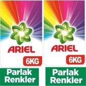 Ariel Matik 6 Kg Parlak Renkler 6+6 12 Kg