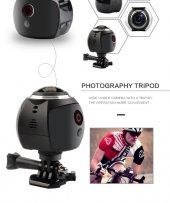 Angeleye Ks 507 360 Derece Ultra Hd Wifi Panaromik Aksiyon Kamera