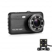 Angeleye Ks 521 Dual Lens 4inç 1080p Hd Araç Kamera