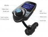 T10a Bluetooth Araç Kiti Fm Usb Fm Transmitter