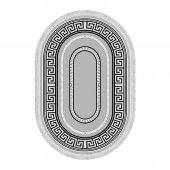 Decoling Safir 2212 Dekoratif Oval Halı