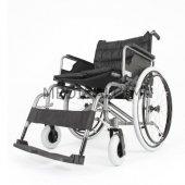 W951 Manuel Tekerlekli Sandalye (Geniş Oturma Yeri)