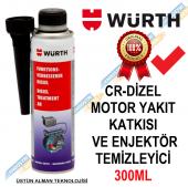 Würth Dizel Motor Yakıt Katkısı ve Enjektör Temizleyici 300ML-2