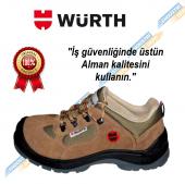 Würth S1-P Boğazsız İş Güvenliği Ayakkabısı Süet Bej 42 Numara-2
