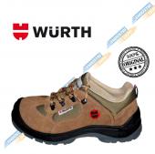 Würth S1-P Boğazsız İş Güvenliği Ayakkabısı Süet Bej 42 Numara-3