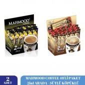 Mahmood Coffee 2si1 Arada - Sütlü Köpüklü 48li Paket