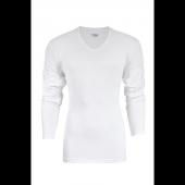 Yıldız V Yaka Uzunkol Fanila T Shirt Tişört