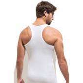 Erkek Pamuk Atlet Elastan Sporcu Yüzücü Body...