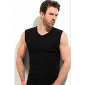 3lü Paket Erdem 1196 100 Pamuk Kolsuz V Yaka Erkek T Shirt