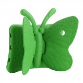Apple İpad Mini 2 3 Kılıf Olix Butterfly Standlı Silikon Yeşil