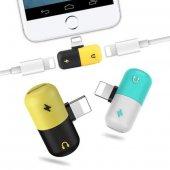2 Adet İphone X 7 8 8 Plus Kulaklık Şarj Giriş...