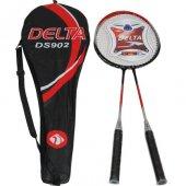 Delta Ds 902 Komple Çantalı Çiftli Badminton Seti