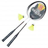 Selex Thunder Çiftli Çelik Badminton Raketi