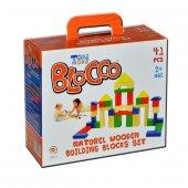 Yabidur Oyuncak Ahşap Bloklar 0 3 Yaş Arası 41 Parça