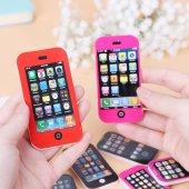 Iphone Şeklinde Silgi 4 Adet