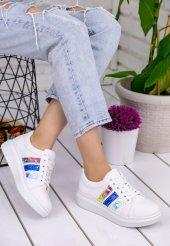 Mirica Beyaz Cilt Renkli Hologram Spor Ayakkabı-2