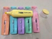 Mikro Fosforlu Kalem Set (Pastel Renkler) 6 Renk Poşetli