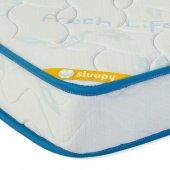 Sluupy Blue Fresh Ortopedik Yaylı Bebek Yatağı 70x110-2