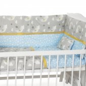 Sluupy Mavi Figürlü Bebek Uyku Seti 70x130