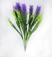 Dekoratif Görünümlü Yapay Saksı Çiçeği 35 Cm 3 Renk