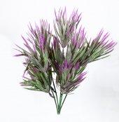 Yapay Pudralı Renkli Demet Çiçek 30 Cm Renk Seçenekli